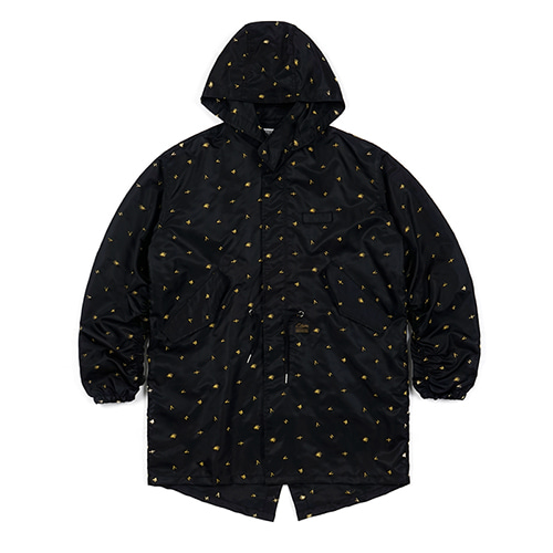STGM OVERSIZED COAT BLACK