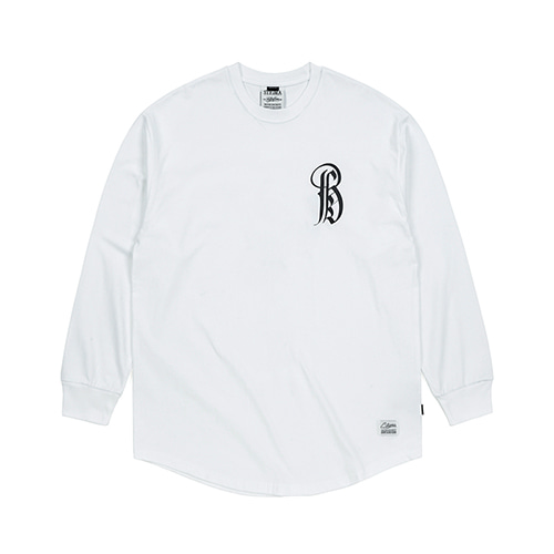 LTD LAYERED LONG SLEEVES T-SHIRTS WHITESOLD OUT