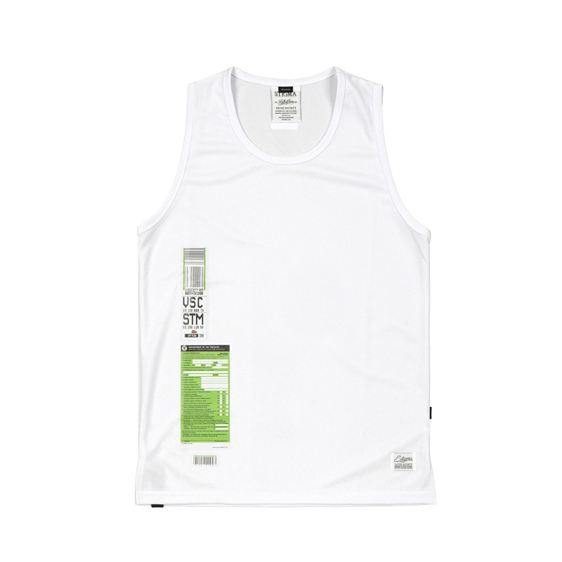 IMMIGRATION COOLON SLEEVELESS WHITE