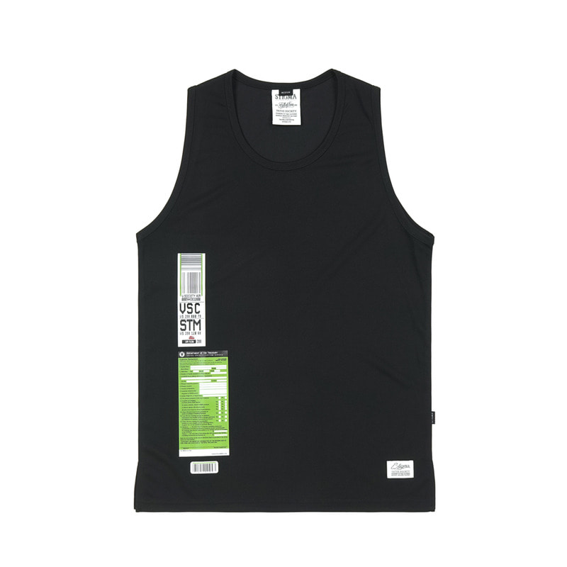 IMMIGRATION COOLON SLEEVELESS BLACKSOLD OUT