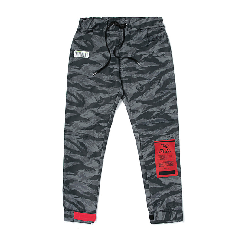 TIGER BENDING JOGGER PANTS CAMOUFLAGE