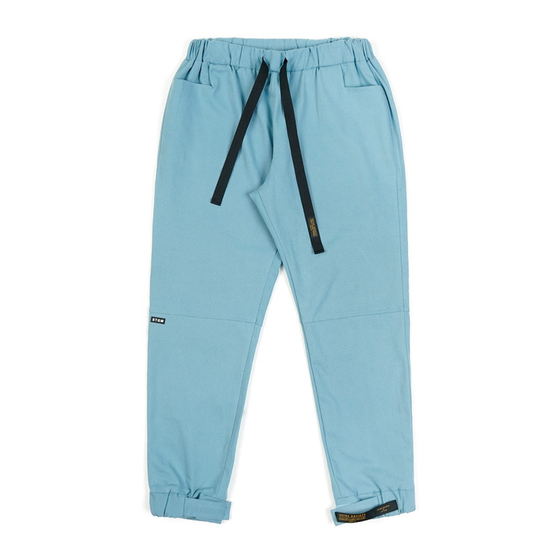 STGM OXFORD WIDE JOGGER PANTS SKYBLUE