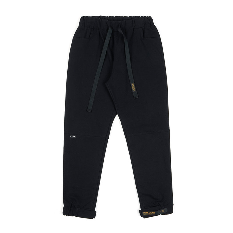 STGM OXFORD WIDE JOGGER PANTS BLACKSOLD OUT
