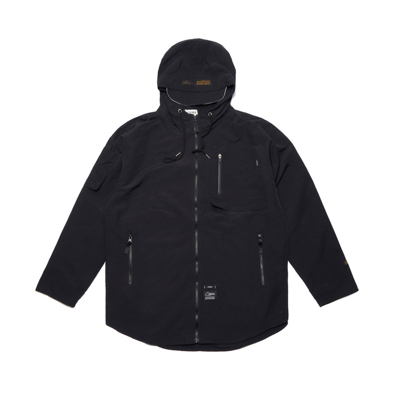 STGM TECH WINDBREAKER JACKET BLACKSOLD OUT