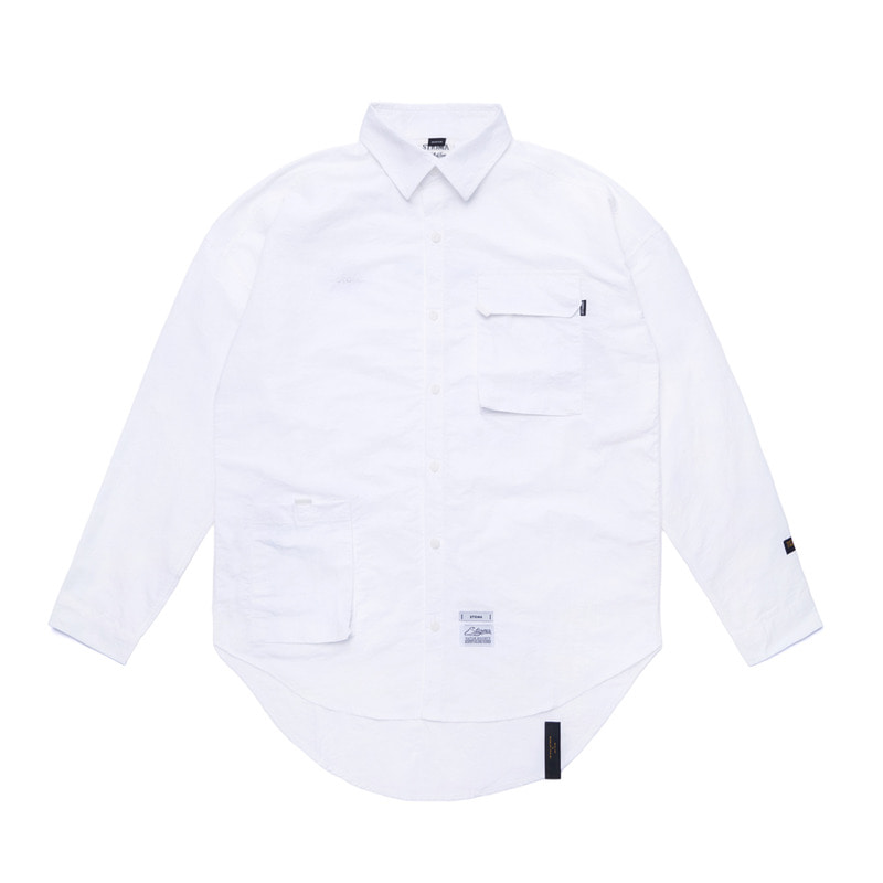 STGM TECH OVERSIZED SHIRTS WHITE