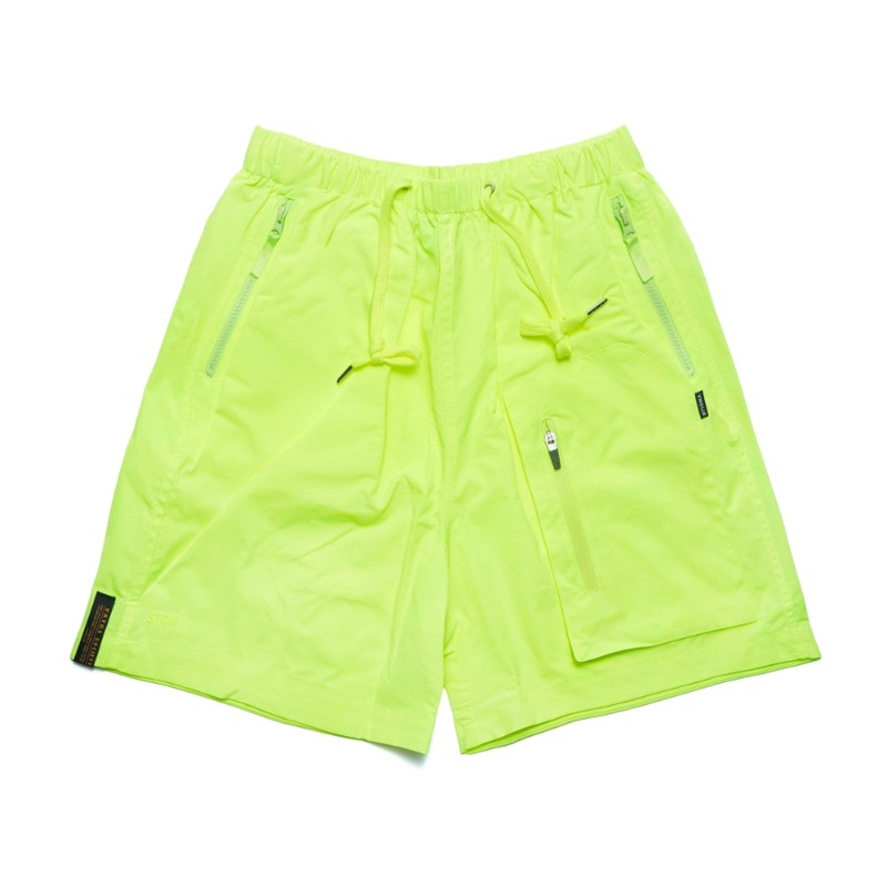 STGM TECH SHORT PANTS NEON GREEN
