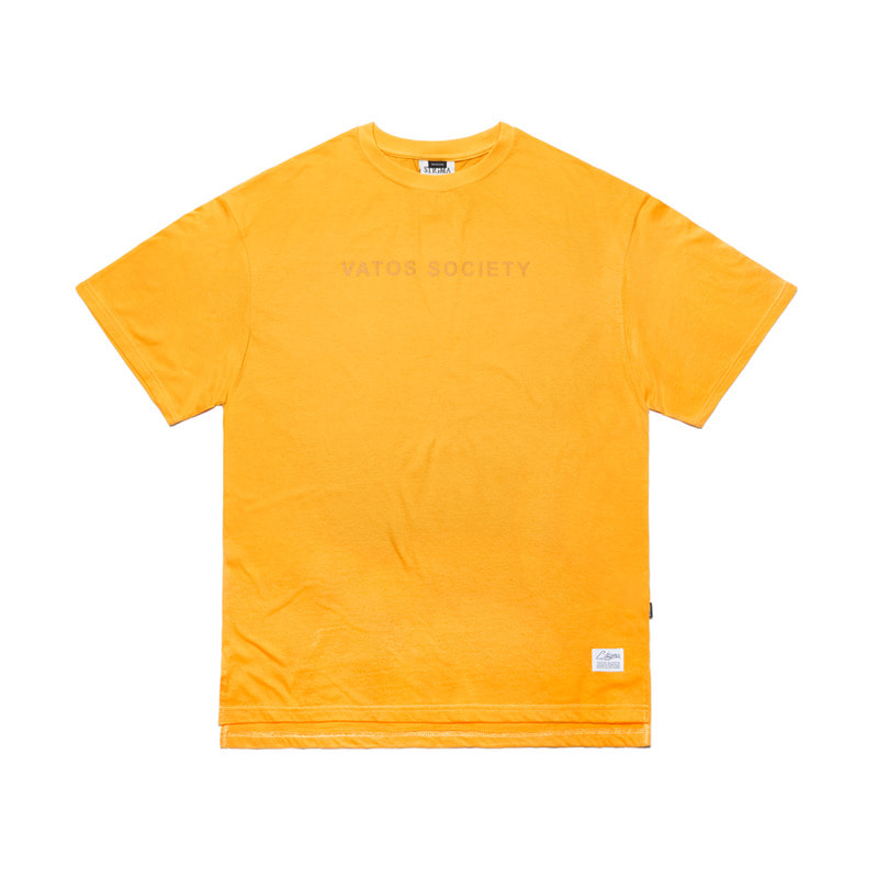 V COLORS OVERSIZED T-SHIRTS YELLOW