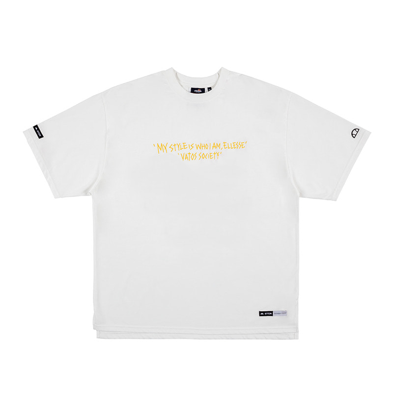 STIGMA x ELLESSE 60th ANNIVERSARY OVERSIZED T-SHIRTS WHITE
