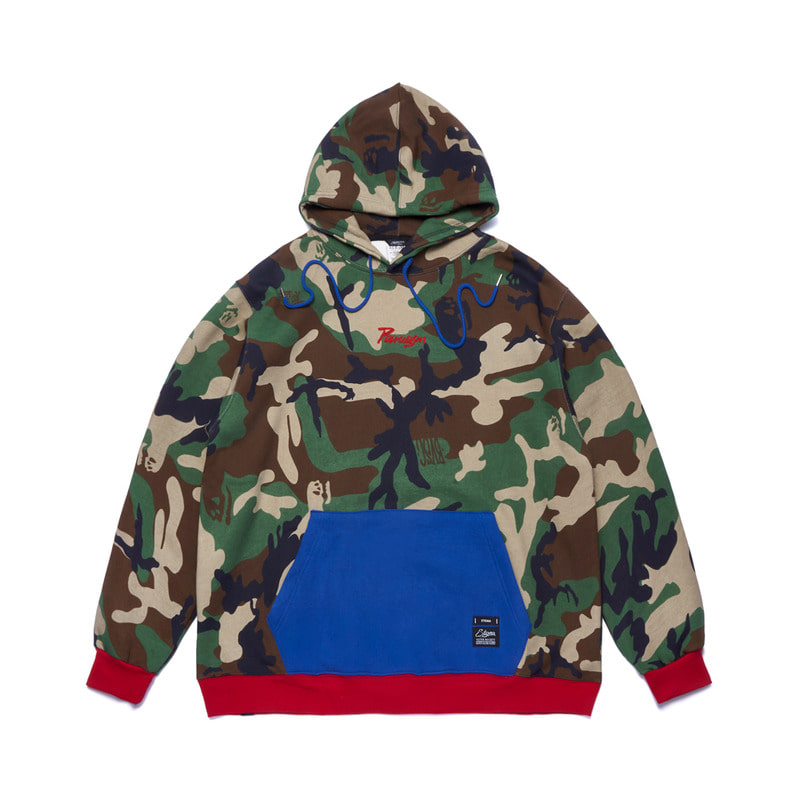 PARAGON OVERSIZED HEAVY SWEAT HOODIE CAMOUFLAGE