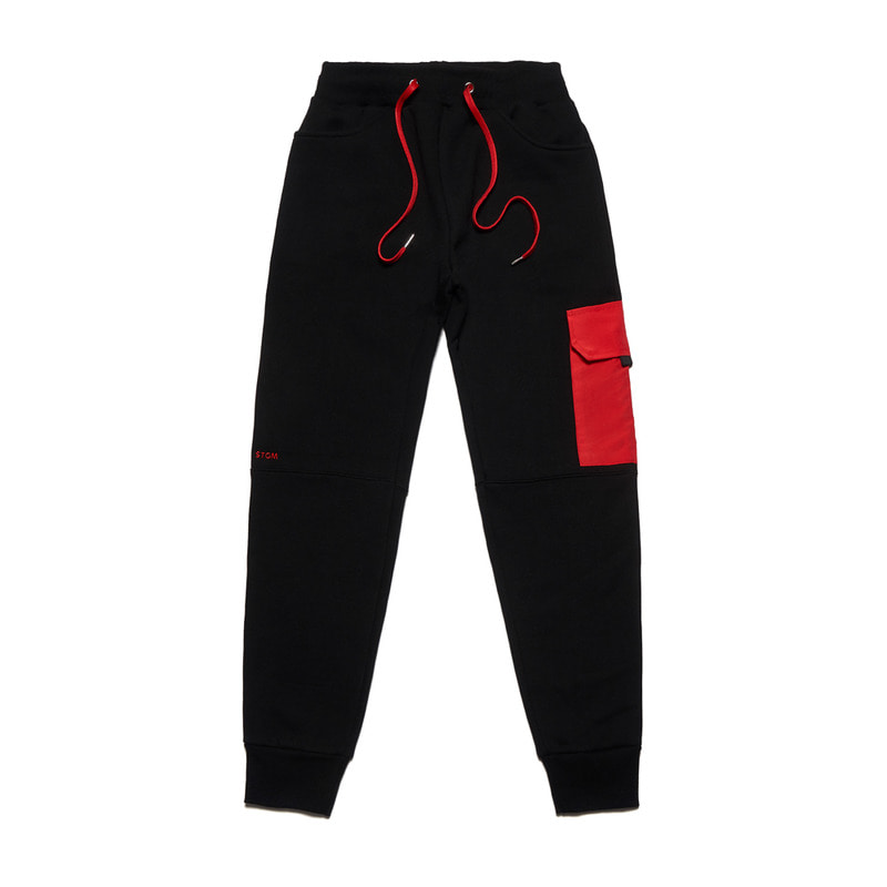 FEEL GOOD HEAVY SWEAT JOGGER PANTS BLACK