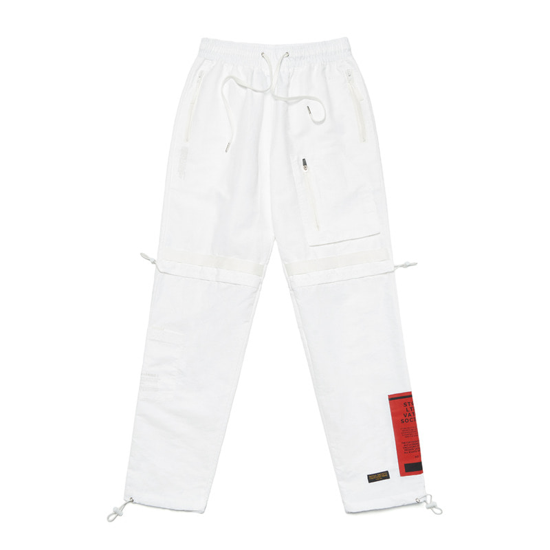 S TECH JOGGER PANTS WHITESOLD OUT