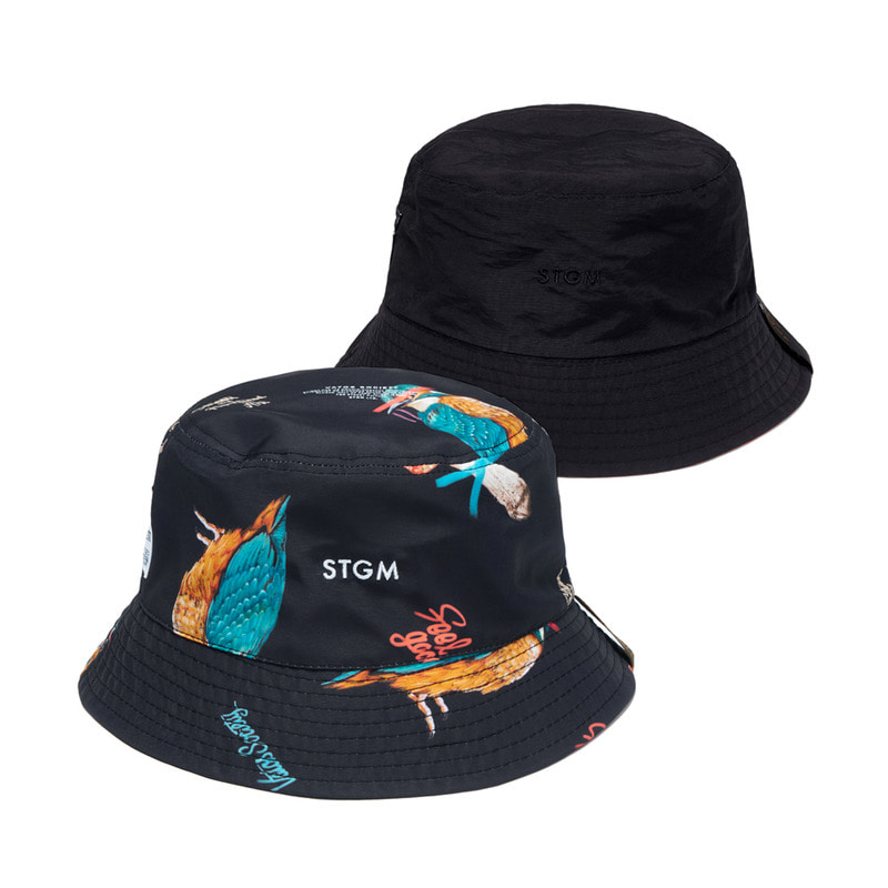 BIRD REVERSIBLE BUCKET HAT PATTERNSOLD OUT