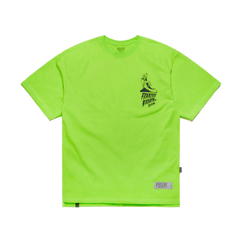 FB OVERSIZED T-SHIRTS NEON GREEN