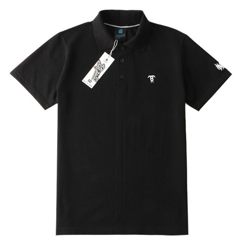 SHORT SLEEVES PIQUE T-SHIRTS_BLACK