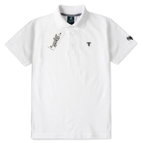 SHORT SLEEVES PIQUE T-SHIRTS_WHITE