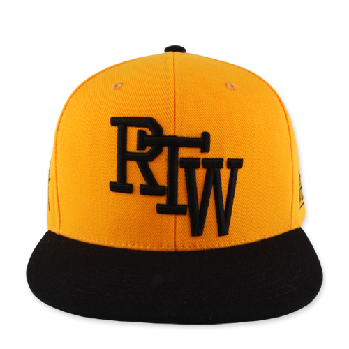 RUN THE WORLD SNAPBACK_YELLOW